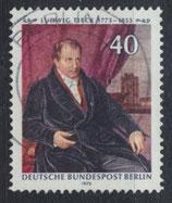 BERL 452 gestempelt