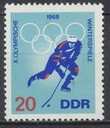1338  postfrisch (DDR)