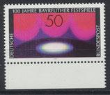 BRD 896 postfrisch mit Bogenrand unten