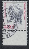 BRD 1582 gestempelt mit Bogenrand unten