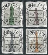 BERL 689-692 gestempelt