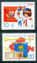 2724-2725 postfrisch (DDR)