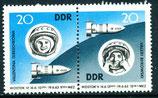 970-971 postfrisch Zusammendruck (DDR)