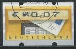 BRD-ATM 5 - 7 gestempelt