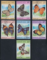897-903 gestempelt (LA-Schmetterlinge)