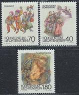 818-820 postfrisch (LIE)