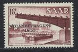 363 ungebraucht mit Falz (SAAR)