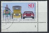 BRD 1268 gestempelt mit Eckrand rechts unten