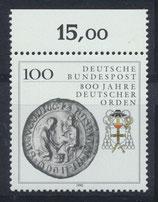 BRD 1451 postfrisch mit Bogenrand oben