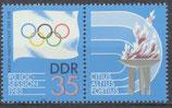 DDR 2949/ZF  postfrisch