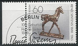 BERL 805 gestempelt mit Bogenrand links