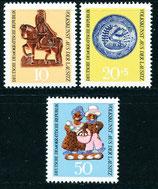 1521-1523 postfrisch (DDR)