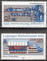 2634-2635 postfrisch (DDR)