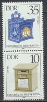 DDR 2926-2924 postfrisch SZD282