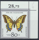 BRD 1516 postfrisch mit Eckrand rechts oben