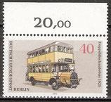 BERL 450 postfrisch mit Oberrand (RWZ 20,00)