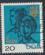 DDR 1321 gestempelt