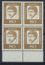 BERL 211 postfrisch Viererblock mit Bogenrand unten