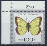 BRD 1518 postfrisch mit Eckrand links oben