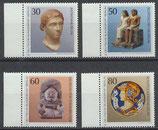 BERL 708-711 postfrisch mit Bogenrand links