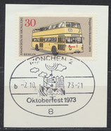 BERL 449 gestempelt auf Briefstück