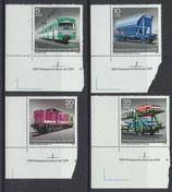 DDR 2414-2417 postfrisch mit Eckrand links unten