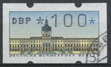 100 (Pf) ATM 1 gestempelt (WB)