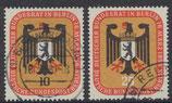 BERL 136-137 gestempelt