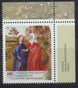 BRD 3119 postfrisch mit Eckrand rechts oben