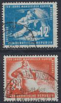 DDR 273-274 philat. Stempel