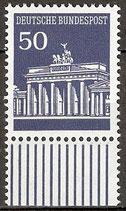 509 postfrisch mit Unterrand (BRD)