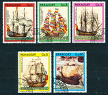 4158-4162 gestempelt (PY-Schiffe)