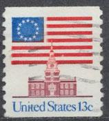 USA 1194 C  gestempelt