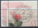 2317 gestempelt mit Eckrand link oben (BRD)