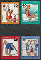 882-885  postfrisch  (BRD)