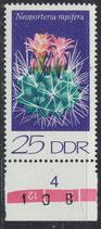 DDR 1926 postfrisch mit Bogenrand unten