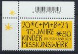 BRD 3582 postfrisch mit Eckrand links oben