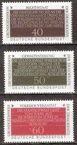 1105-1107   postfrisch  (BRD)