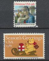 USA 1513-1514  gestempelt