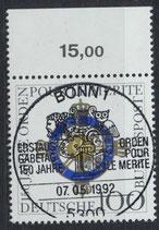 BRD 1613 gestempelt mit Bogenrand oben