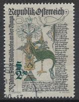 AT 1658  gestempelt