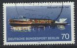 BERL 487 gestempelt