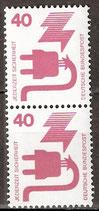 BRD 699 A postfrisch senkrechtes Paar