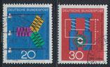 BRD 521-522 gestempelt (2)