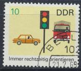 DDR 1445 philat. Stempel