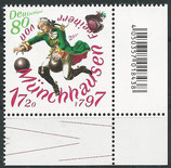 BRD 3546 postfrisch Eckrand rechts unten