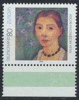 BRD 1854 postfrisch mit Eckrand rechts unten