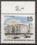 255 postfrisch mit Oberrand (BERL)