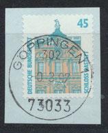 BRD 1468 gestempelt auf Briefstück (2)