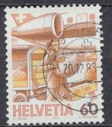 CH 1344  gestempelt